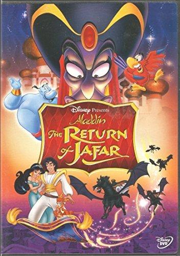 The Return of Jafar (1994) starring Scott Weinger, Linda Larkin, Gilbert Gottfried, Jonathan Freeman, Jason Alexander, Dan Castellana