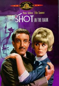 A Shot in the Dark, starring Peter Sellers, Elke Sommer, Herbert Lom, directed by Blake Edwards