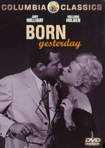 Born Yesterday (1950) starring Judy Holliday, William Holden, Broderick Crawford