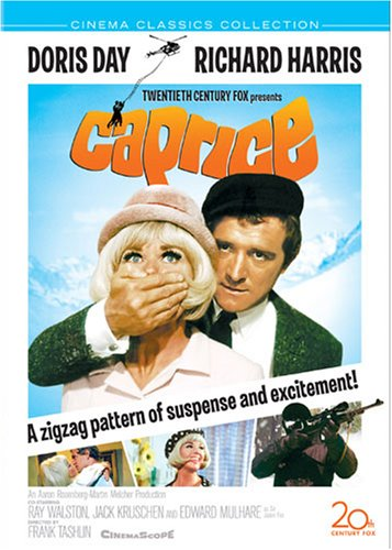 Caprice (1967) starring Doris Day, Richard Harris, Ray Walston, directed by Frank Tashlin