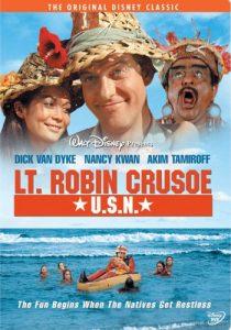 Lt. Robin Crusoe, U.S.N. starring Dick Van Dyke, Nancy Kwan, Akim Tamiroff