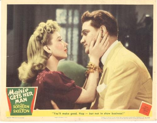 Maisie Gets Her Man (1942) starring Ann Sothern, Red Skelton