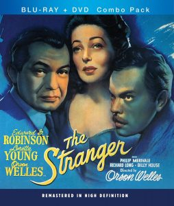 The Stranger (1946) starring Orson Welles, Edward G. Robinson, Loretta Young