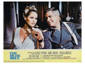 Ursula Andress and George Peppard in The Blue Max