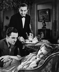 Edward Norris, Bela Lugosi & Anita Louise in The Gorilla