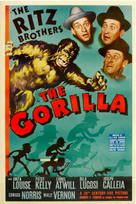 The Gorilla (1939) starring the Ritz Brothers, Bela Lugosi, Lionel Atwill
