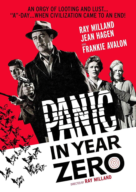 Panic in the Year Zero, starring Ray Milland, Jean Hagen, Frankie Avalon