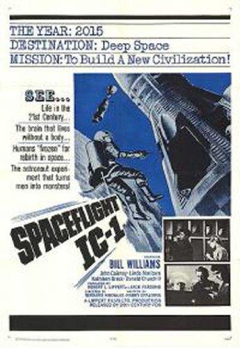 Spaceflight IC-1 (1965) starring Bill Williams, Norma West, John Cairney, Linda Marlowe