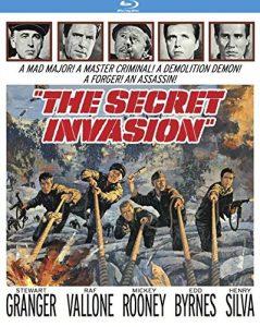 The Secret Invasion, starring Stewart Granger, Mickey Rooney, Raf Vallone, Henry Silva, Edd Byrnes, directed by Roger Corman