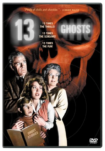 13 Ghosts - 13 times the chills! 13 times the screams! 13 times the fun!