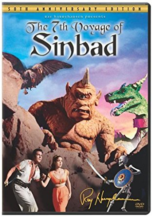 The 7th Voyage of Sinbad (1958) starring Kerwin Mathews, Kathryn Grant, Richard Eyer, Torin Thatcher