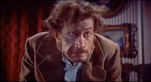 "Michael Gwynn as Karl - ""Frankenstein, help me!"" in Revenge of Frankenstein"