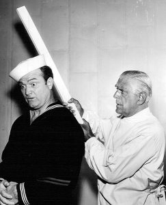 Red Skelton and Boris Karloff on The Red Skelton Show in 1954