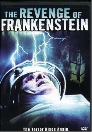 The Revenge of Frankenstein (1958) starring Peter Cushing, Francis Matthews, Michael Gwynn