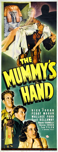 The Mummy's Hand movie poster