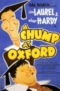 A Chump at Oxford, starring Laurel and Hardy