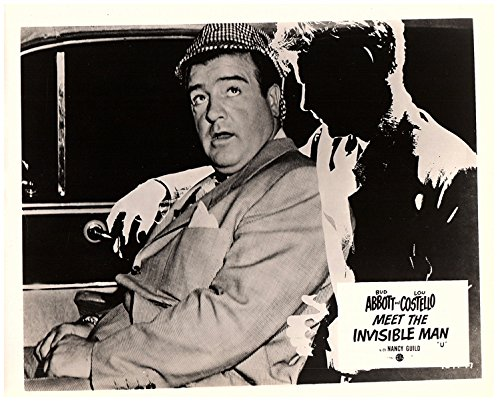 Abbott & Costello Meet The Invisible Man - Lou Costello & Invisible Man in Car