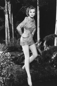 Publicity photo of Anne Francis as Altaira Morbius in Forbidden Planet