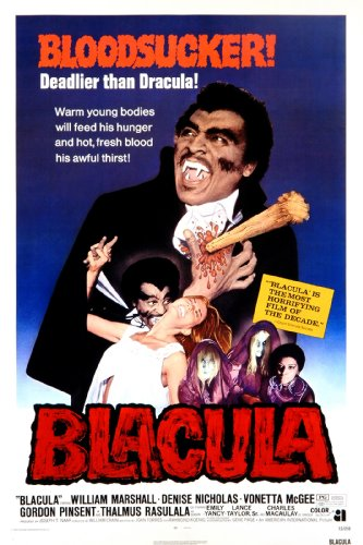 Blacula (1972) starring William Marshall, Vonetta McGee