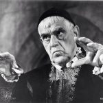 Boris Karloff at his finest as the evil Dr. Scarabus in The Raven