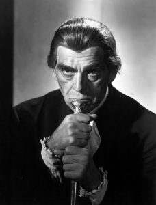 Bedlam, Boris Karloff as Master Simms, 1946