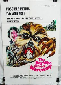 The Boy Who Cried Werewolf (1973) starring Kerwin Mathews, Elaine Devry, Scott Sealey