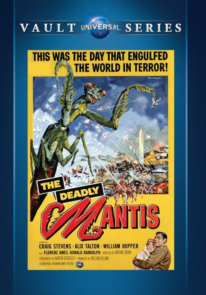 The Deadly Mantis (1952) starring Craig Stevens, Alix Talton, William Hopper