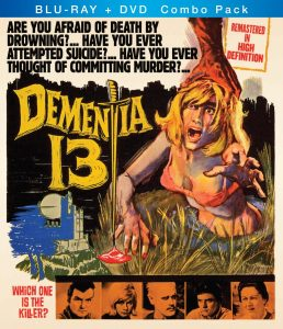 Dementia 13 (1963) starring William Campbell, Luana Anders, directed by Francis Ford Coppola