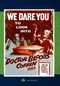 Dr. Blood's Coffin (1961) starring Kieron Moore, Hazel Court