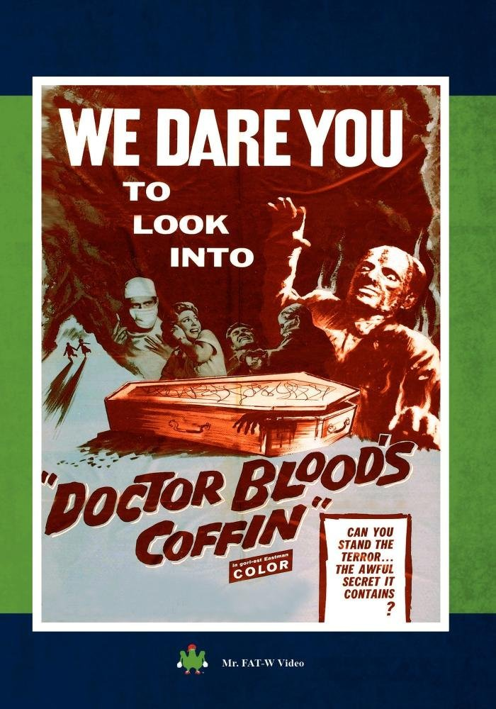 Dr. Blood's Coffin (1961) starring Kieron Moore, Hazel Court