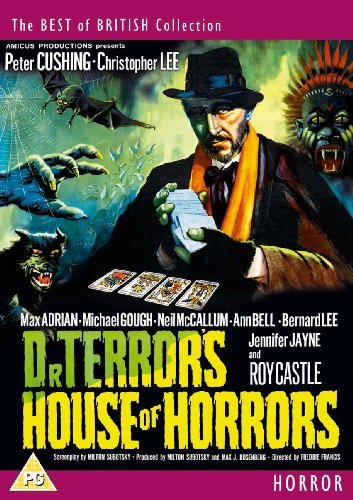 Dr. Terror's House of Horrors, starring Peter Cushing, Christopher Lee