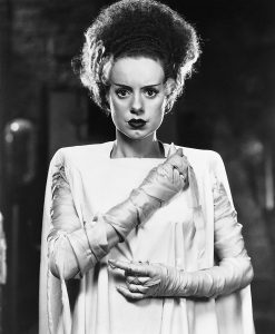 Elsa Lanchester as the titular Bride of Frankenstein