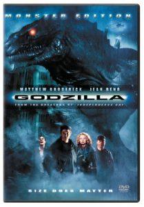 American Godzilla (1998), starring Matthew Broderick