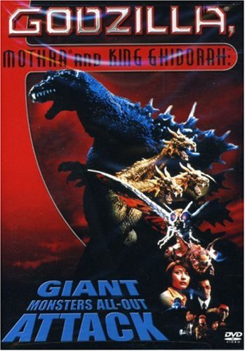 Godzilla, Mothra, King Ghidorah in Giant Monsters All Out Attack