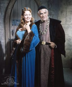 The villains of The Raven - Hazel Court and Boris Karloff