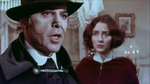Herbert Lom as the Phantom in Murders in the Rue Morgue (1971)