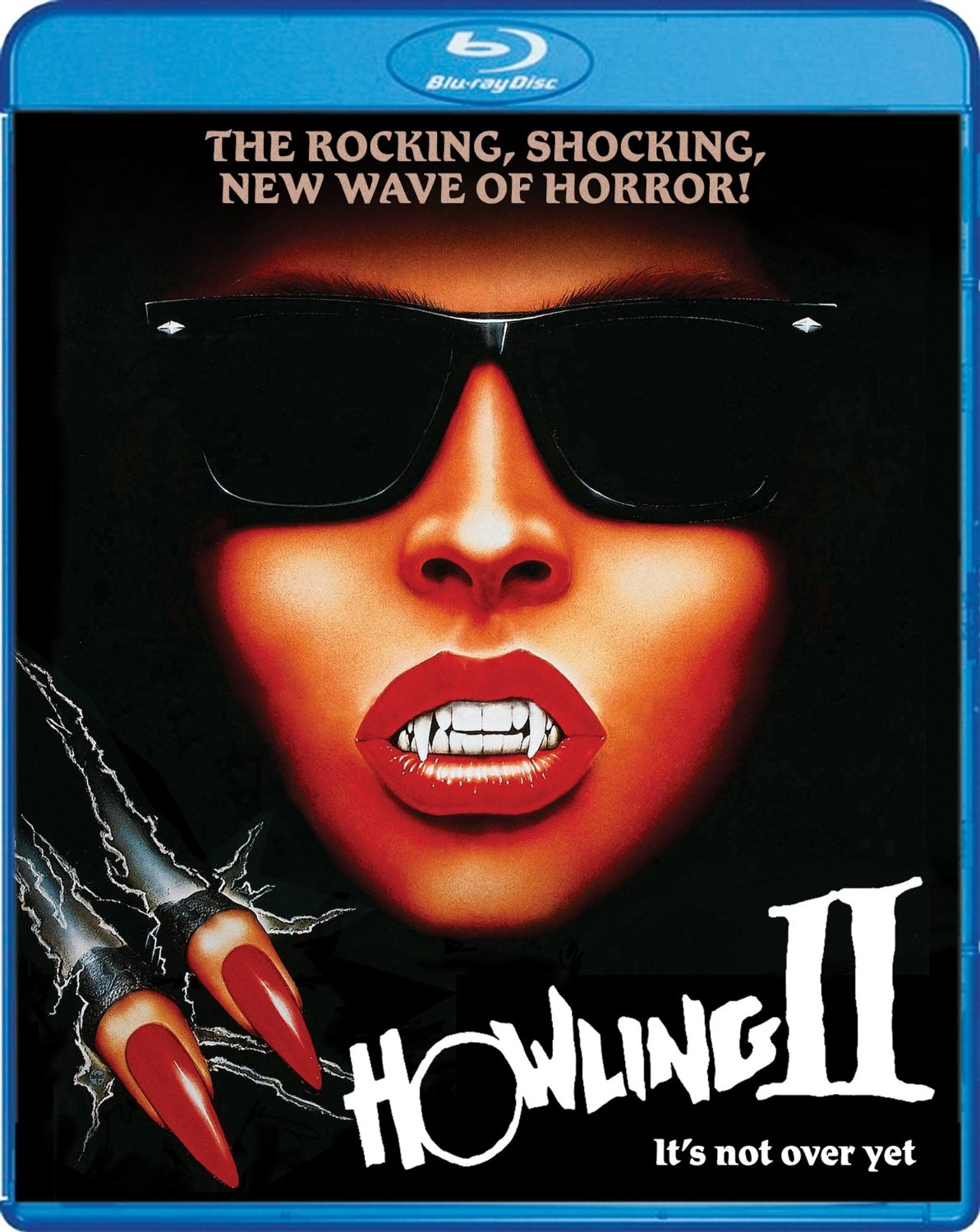 Howling II: Your Sister is a Werewolf (1985) starring Christopher Lee, Annie McEnroe, Reb Brown, Marsha A. Hunt, Sybil Danning