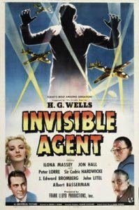 Invisible Agent (1942) starring John Hall, Ilona Massey, Peter Lorre, Cedric Hardwicke, J. Edward Bromberg, Albert Bassermann