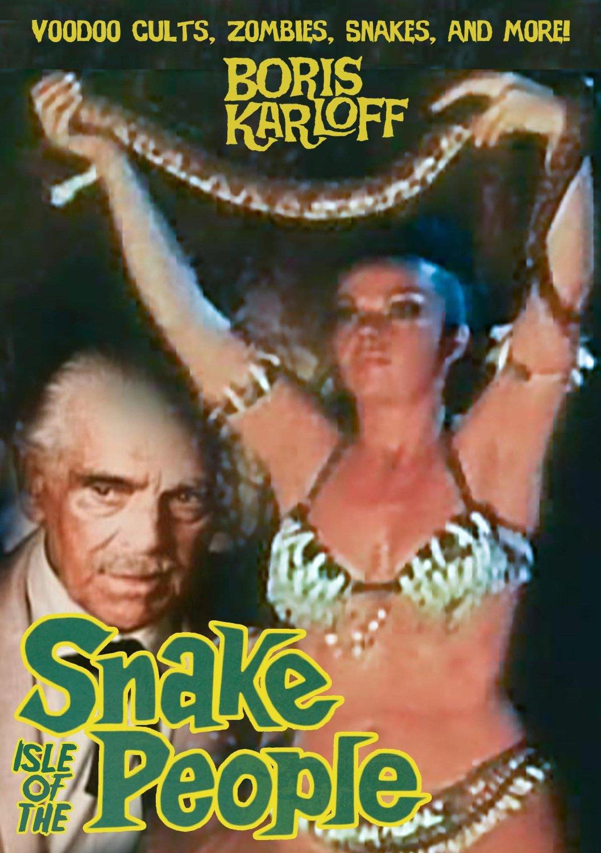 Isle of the Snake People (1971), starring Boris Karloff, Julissa, Yolanda Montes, Yolanda Montes