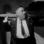 J. Edward Bromberg as the cowardly Nazi, Karl Heiser
