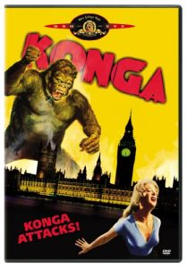 Konga (1961) starring Michael Gough, Margo Johns