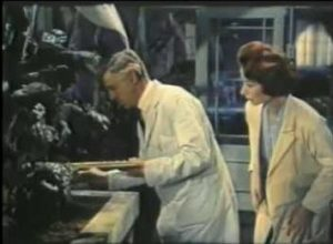 In Konga, Dr. Decker explains to Margaret about his carnivorous plants