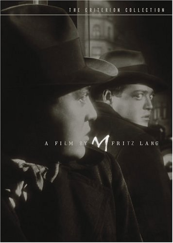 M - directed by Fritz Lang, starring Peter Lorre