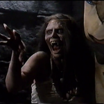 Michelle Bauer as the monster in The Tomb