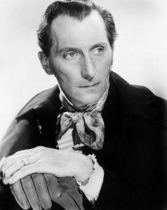 Peter Cushing in Revenge of Frankenstein