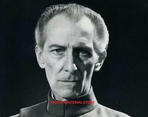 Peter Cushing as Grand Moff Tarkin in Star Wars