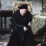 Peter Lorre as the untrustworthy wizard Dr. Adolphus Bedlo in The Raven