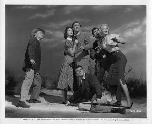 Publicity photo of the cast of It Came from Outer Space