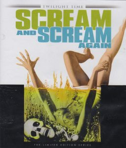 Scream and Scream Again (1970) starring Vincent Price, Christopher Lee, Peter Cushing, Christopher Matthews