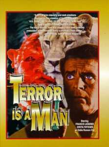 Terror is a Man (1959), starring Richard Derr, Richard Derr, Greta Thyssen